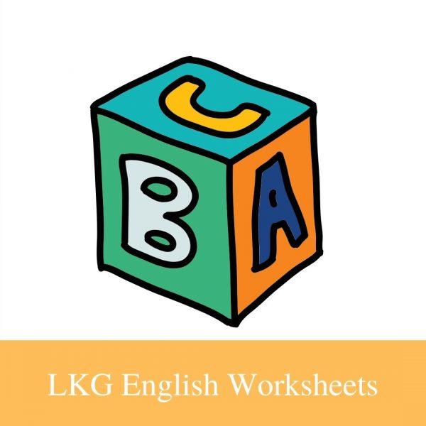 Buy LKG EnglishWorksheets
