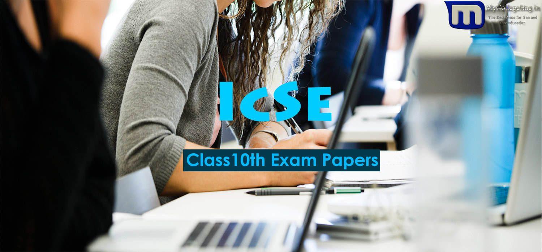 ICSE Class 10th Maths
