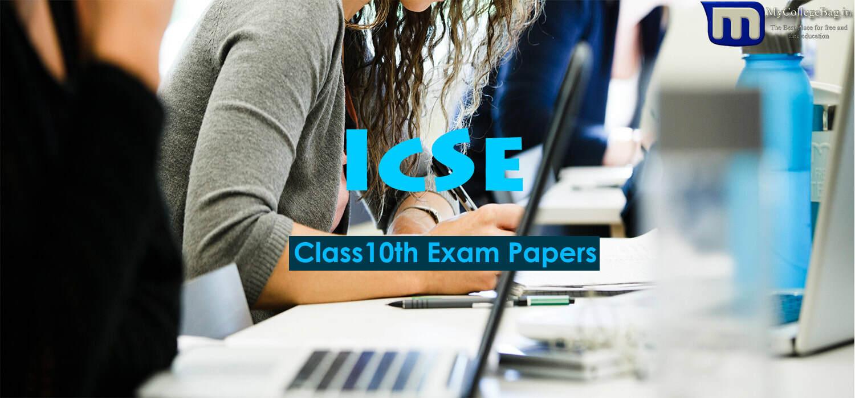 icse class 10th History & Civics Papers
