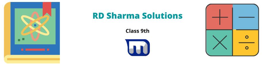 RD Sharma Class 9 solutions