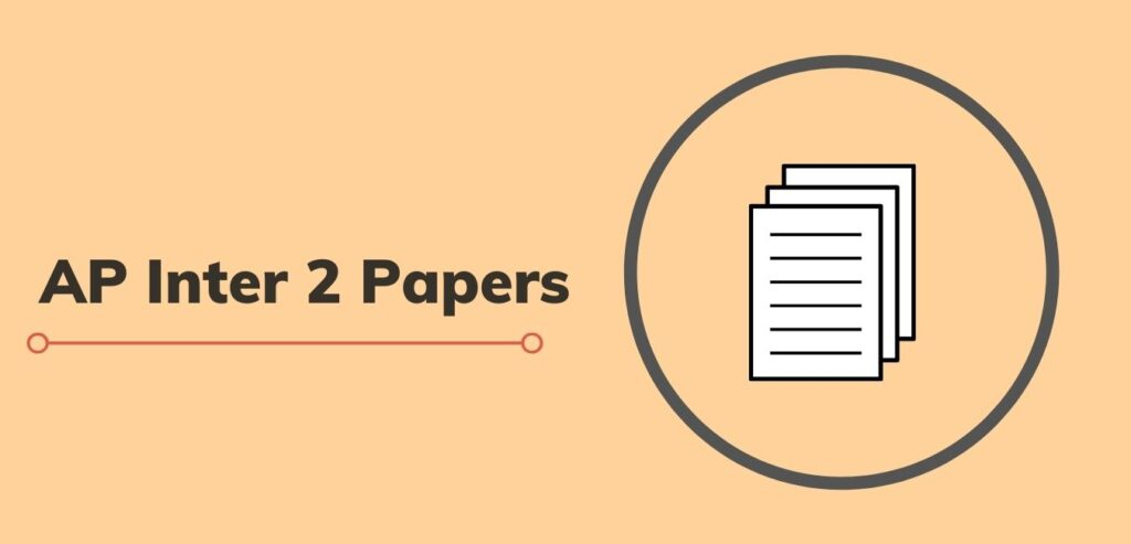 AP Intermediate 2nd Year Question Papers