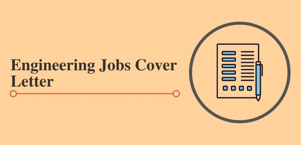 engineering job cover letter