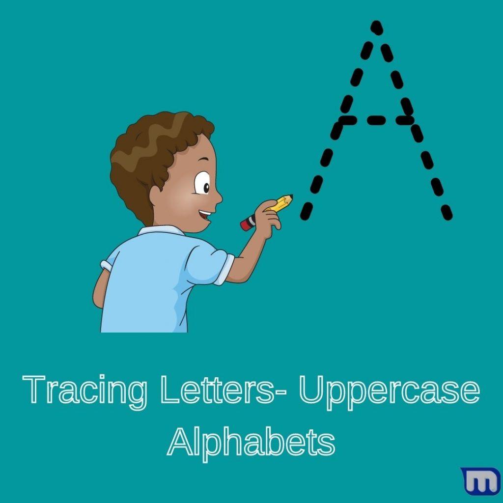 Letter Tracing Uppercase Worksheets