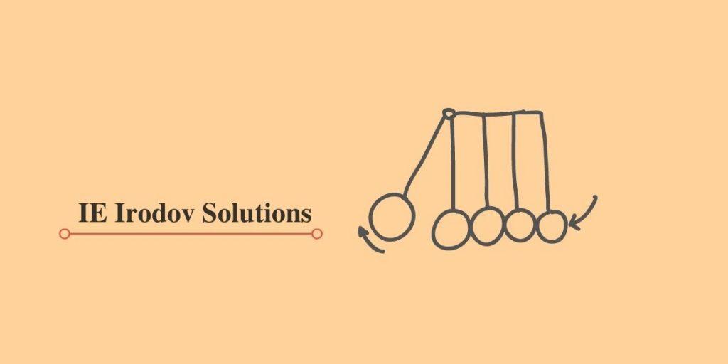 IE Irodov Solutions