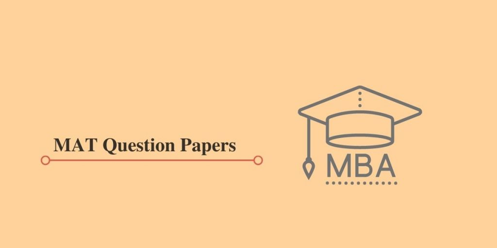 MAT Question Papers