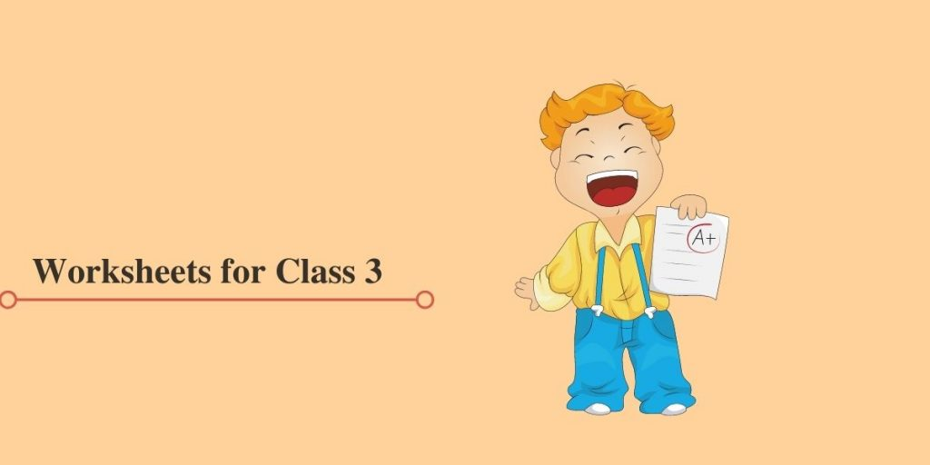 Class 3 Worksheets in PDF