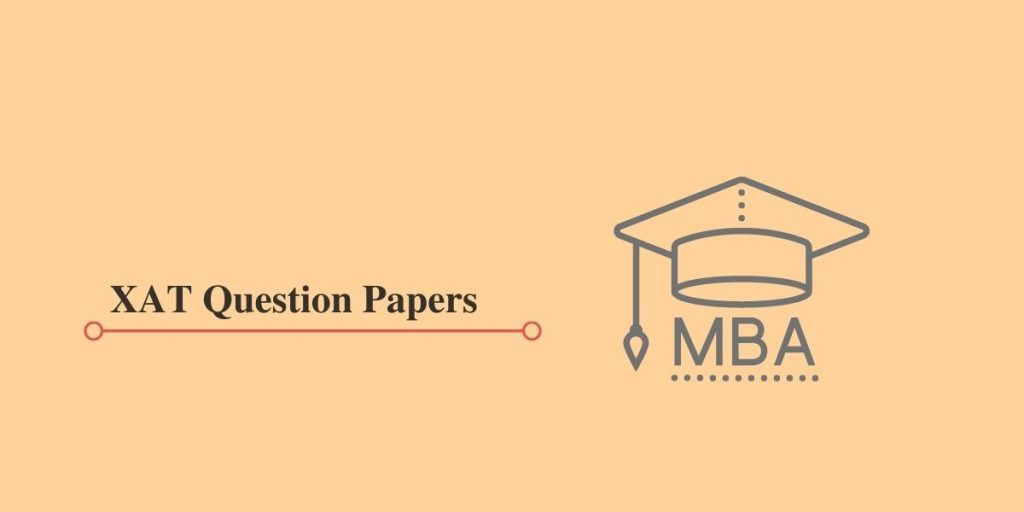 XAT Question Papers